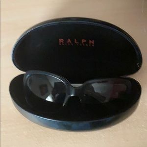 Two tone black and white Ralph Lauren sunglasses